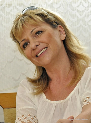 Meláth Andrea, az Ének Tanszék vezetője a Zeneakadémián